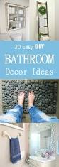 20 easy diy bathroom decor ideas easy diy bathroom decor tsc