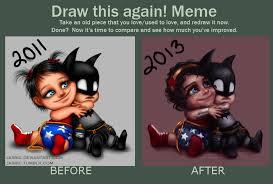 Draw This Again Meme Template - draw this again meme by jasric on deviantart