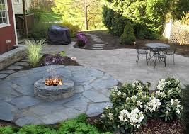Rock Patio Design Nh Landscaping Designs Of Patios Fire Pits Natural Stone Fire Pit
