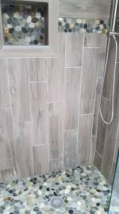 bathroom top pebble bathroom floor good home design modern and