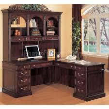 L Shaped Desk Hutch L Shaped Desk With Hutch Sutton L Shape Desk With Hutch Lateral