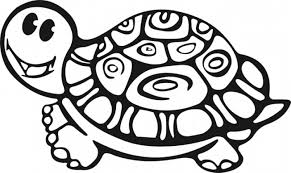 free printable turtle coloring pages for kids printable of turtle