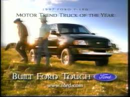 ford f150 commercial 1997 ford f 150 commercial featuring palance