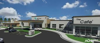 midland care breaks ground on compass center midland care