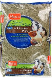 hartz small animal diet guinea pig food 10 lb bag chewy com