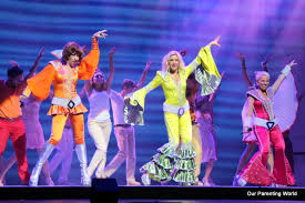 Hit The Floor Cast Mia - musical review and interview mamma mia in singapore our