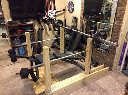Squat Bench Rack For Sale 12 Best Wooden Squat Rack Images On Pinterest Garage Gym Power