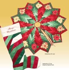 Quilted Christmas Tree Skirts To Make - quilt inspiration free pattern day christmas tree skirts