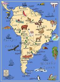 anerica map best 25 south america map ideas on country