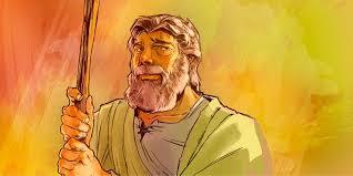 bible character card aaron