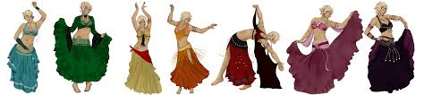 Belly Dance Meme - hgu belly dance dresses by onlyairshipcapn on deviantart