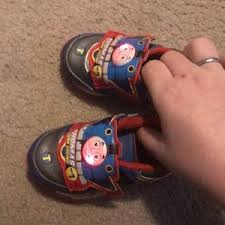 thomas the train light up shoes other thomas the train light up shoes poshmark