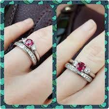 small ruby rings images Post pics of your ruby engagement rings bonus if it 39 s on yellow png