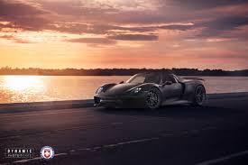 Porsche 918 Dark Blue - dynamic photowerks hre performance wheels u2013 porsche 918 spyder