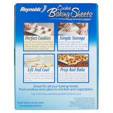 parchment paper to write on reynolds cookie baking sheets non stick parchment paper 22 sheets reynolds cookie baking sheets non stick parchment paper 22 sheets walmart com