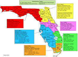 Florida Regions Map by Carrt Center For Assistive Rehabilitation And Robotics Technologies