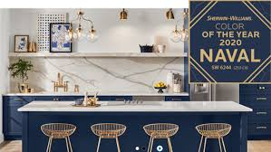 sherwin williams navy blue kitchen cabinets 5 home design trends we re most grateful for