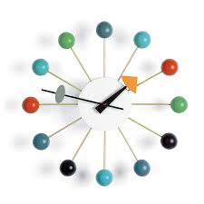 vitra ball clock by george nelson 1948 designer furniture by