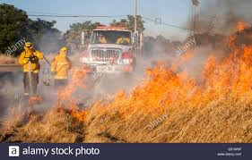 Wildfire Training by Keyes Ca Usa 5th June 2016 Keyes Fire Department Held A