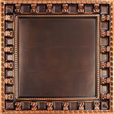 Tin Ceiling Panels by Parthenon Faux Tin Ceiling Tiles Drop In 24