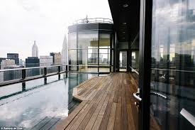 nyc penthouse pool shows benefit of stainless steel bradford