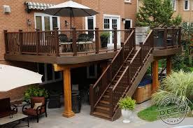 Trex Lighting Deck Stair Support Radnor Decoration