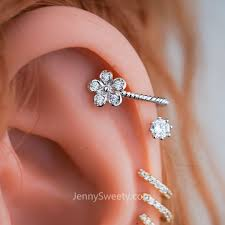 where to get cartilage earrings cartilage piercing earrings gallery of jewelry
