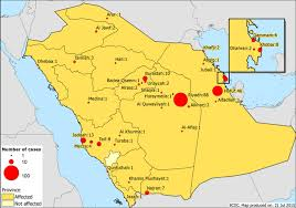 middle east map medina epidemiological update middle east respiratory
