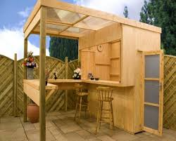 relaxing outdoor backyard bar wearefound home design