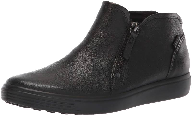 ECCO Soft Low Cut Zip Bootie, Adult,