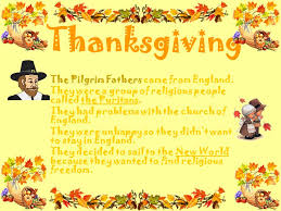 thanksgiving the pilgrim fathers came from ppt