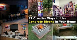 17 creative ways to use concrete blocks in your home diy u0026 crafts