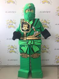 Lego Ninjago Halloween Costume Buy Lego Ninjago Lloyd Mascot Lego Ninjago Ninjago Ninja Lego