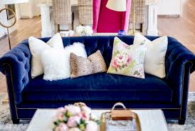 navy blue velvet sofa navy blue living room set dark blue living room decorating ideas