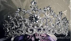 bridal accessories melbourne european big crown princess headdress hair hoop wedding hair