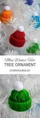 make it miniature winter hat yarn craft miniatures decoration