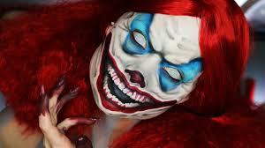 Insane Halloween Makeup by Until Dawn Clown Makeup Tutorial Youtube
