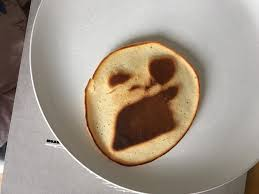 Meme Faced - today the angry meme faced me from my pancake album on imgur