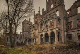 the overgrown ruins of kopice castle poland 1600 1082 by