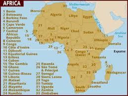 africa map 54 countries confederate states of africa legend lu wiki fandom