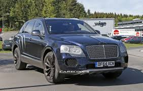bentley bentayga 2015 bentley bentayga suv spied with minimal disguise throttle blips
