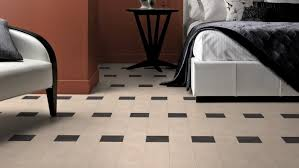 white designer bedroom floor tiles for a simple and look