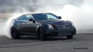 cadillac cts coupe 2009 cadillac cts v coupe burnout