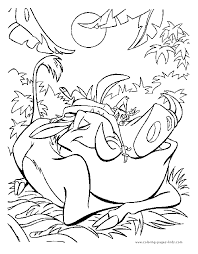 lion king coloring pages free kids coloring
