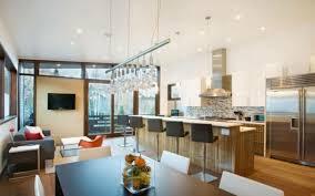 cuisine salle a manger ouverte modele de cuisine ouverte sur salle a manger maison design bahbe com
