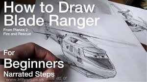 draw blade ranger planes 2 fire rescue