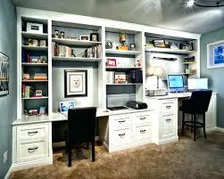 Computer Desk Built In Desk With Bookshelves Computer Desk With Bookshelves Wall Units