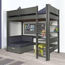 hochbett mit sofa drunter hochbett mit aus metall amazing trasman bo hochbett mit