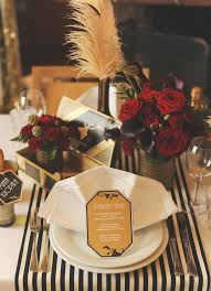 Table Decorations Centerpieces by Best 25 Art Deco Centerpiece Ideas On Pinterest Art Deco