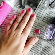 i finally tried spray on nail polish the bean u0026 the belle